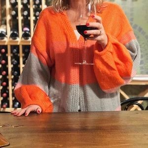 PRETTY LITTLE THING COLOR BLOCK CARDIGAN!!!!